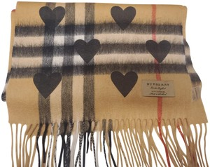 Burberry Large Check Heart