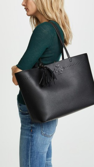 Tory Burch Fleming Tote in black Image 10