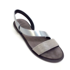 Brunello Cucinelli Silver Sandals