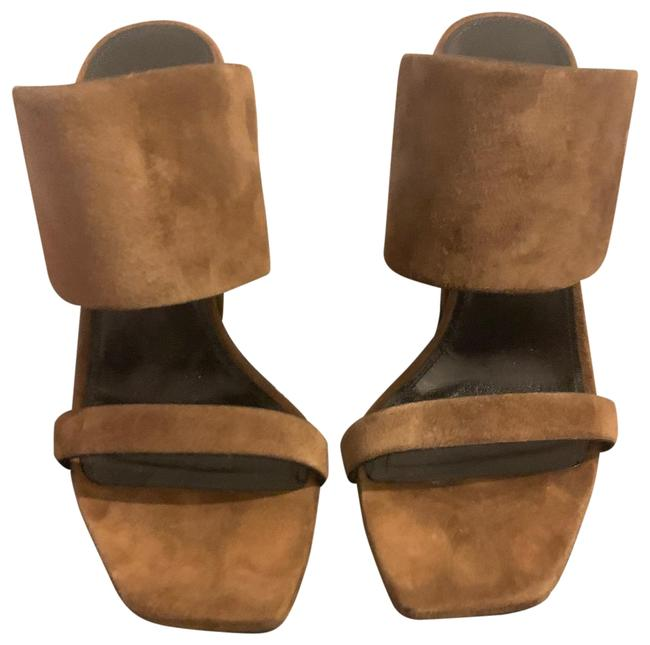 Item - Brown Oak Suede Sandals Mules/Slides Size EU 38 (Approx. US 8) Regular (M, B)
