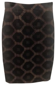 Anne Fontaine Skirt black and beige