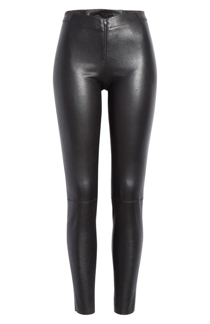 Item - Black with Tag Leather Leggings Size 10 (M, 31)
