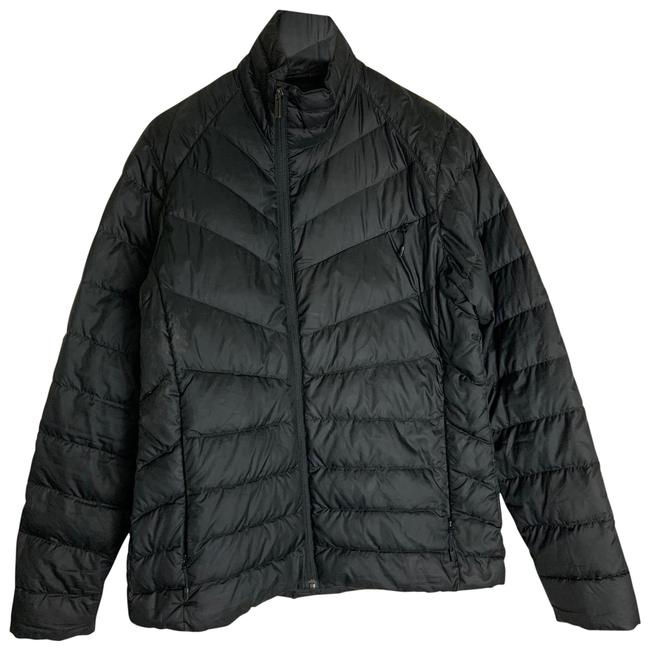 NAU Black Quilted Jacket Coat Size 12 (L) NAU Black Quilted Jacket Coat Size 12 (L) Image 1