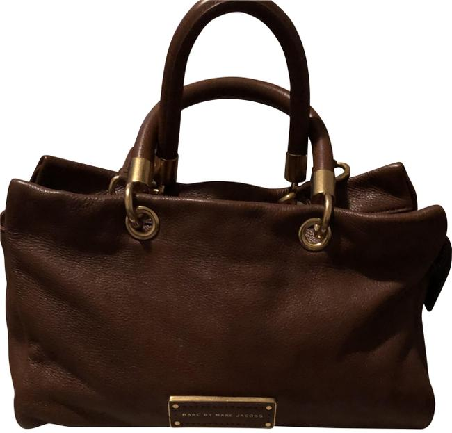 Item - Purse Brown Lambskin Leather Tote