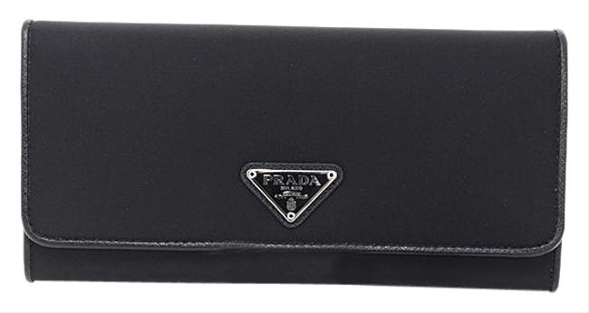 Item - Black / Nero Long 1mh132 Nylon (Bi-fold) Wallet