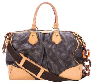 Louis Vuitton Limited Edition Tortoise Shell Satchel in Monogram