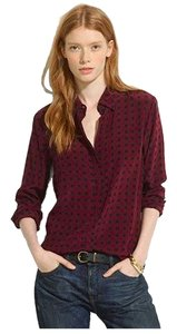 Madewell Button Down Shirt cabernet