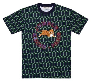Kenzo x H&M Animal Print Oversized Comfortable Premium Cotton T Shirt Black and Green