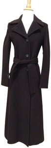 United Colors of Benetton Wool Long Dress Trench Coat