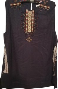 Burning Torch Top Brown multiple