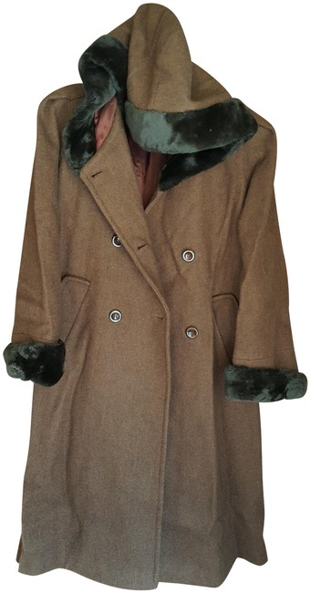 Item - Wool with Hood Coat Size 6 (S)