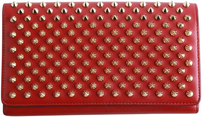 Item - Red Studded Wallet