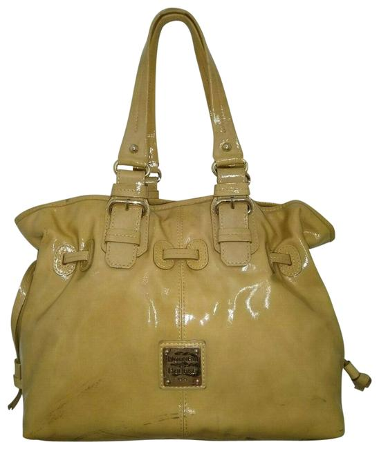 Item - Shoulder Bag W And Magnetic Beige Patent Leather Tote