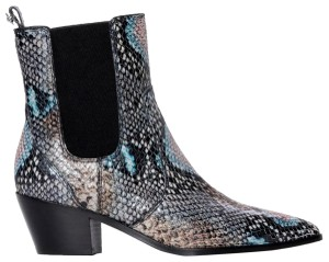 Paige Blue snake Boots