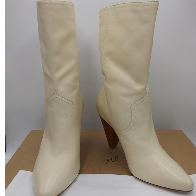 Item - Ivory Gabbissy Slouchy Leather Boots/Booties Size EU 39.5 (Approx. US 9.5) Regular (M, B)