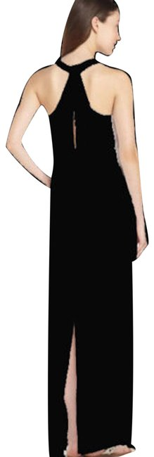 Item - Black Bcbg Sara Knit Satin Xxs Long Casual Maxi Dress Size 00 (XXS)