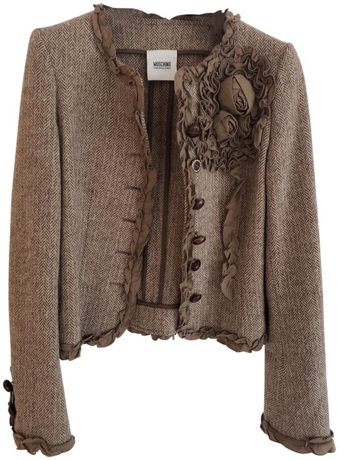 Item - Brown Not Sure Jacket Size 2 (XS)