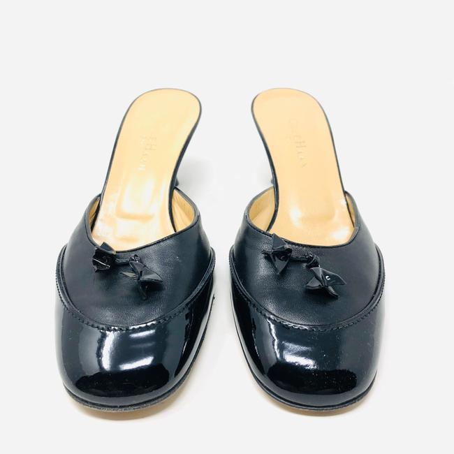 Cole Haan Black Leather / Patent Leather Mules/Slides Size US 8.5 Regular (M, B) Cole Haan Black Leather / Patent Leather Mules/Slides Size US 8.5 Regular (M, B) Image 5