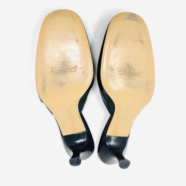 Cole Haan Black Leather / Patent Leather Mules/Slides Size US 8.5 Regular (M, B) Cole Haan Black Leather / Patent Leather Mules/Slides Size US 8.5 Regular (M, B) Image 6