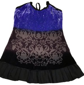 Free People short dress Purple Ombre T-back on Tradesy