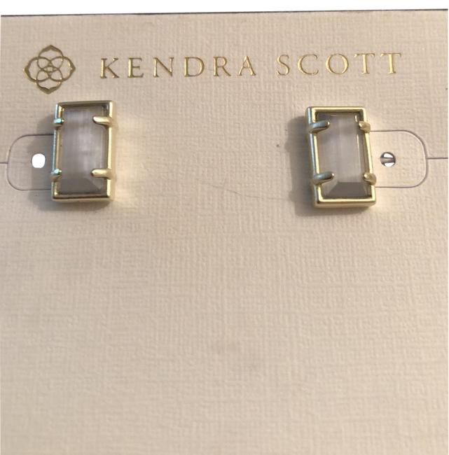 Item - Gold /Gray Paola Studs Earrings