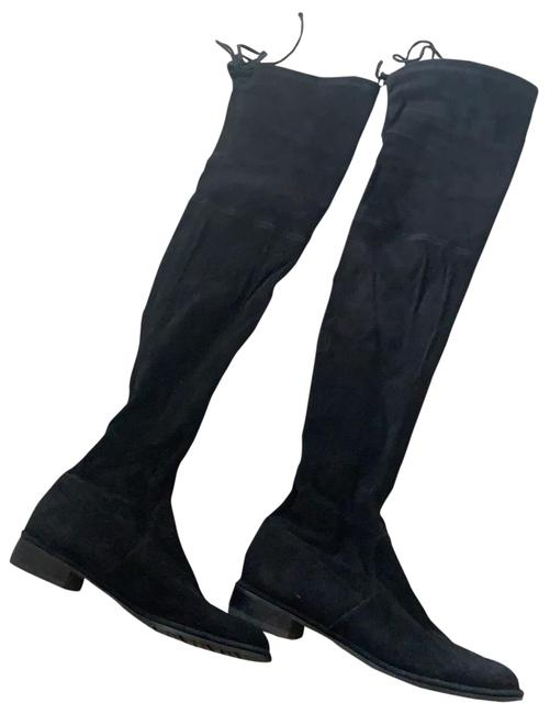 Item - Black Famous Over The Knee Boots/Booties Size US 8 Regular (M, B)