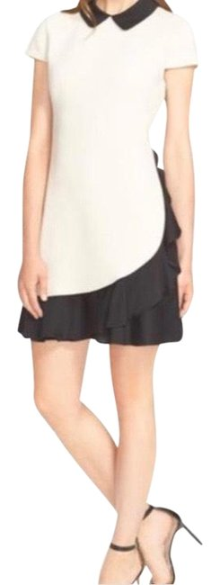 Preload https://img-static.tradesy.com/item/26584574/kate-spade-nude-and-black-pumice-black-crepe-ruffle-sheath-short-cocktail-dress-size-2-xs-0-2-650-650.jpg