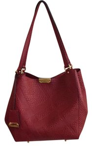 Burberry Summer Tote in Military Red