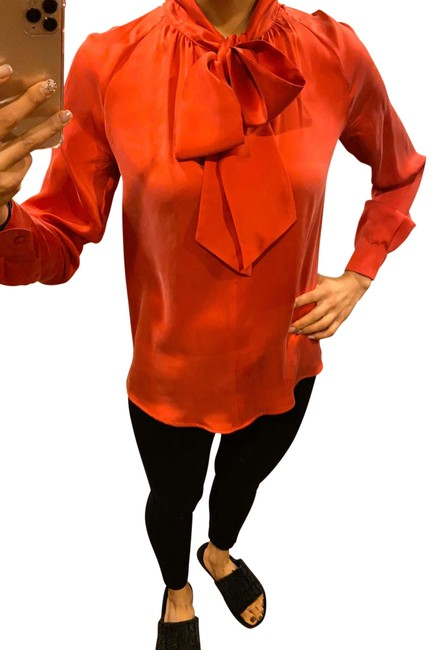 Item - Red Soraia Blouse Size 4 (S)