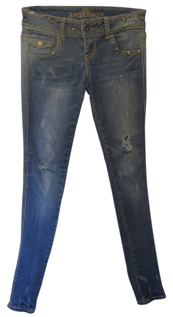 Preload https://img-static.tradesy.com/item/2658640/almost-famous-clothing-blue-denim-distressed-jeggings-size-24-0-xs-0-0-650-650.jpg