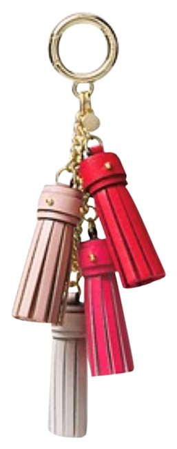 Item - Red/Pink Tassel Bag Charm