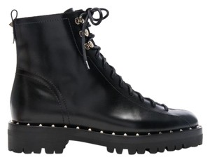 Valentino black with silver hardware Boots