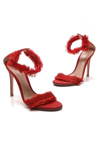 Gianvito Rossi Red Sandals