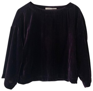 cupcakes and cashmere Top deep purple