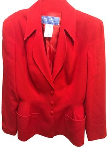 Thierry Mugler Red Blazer