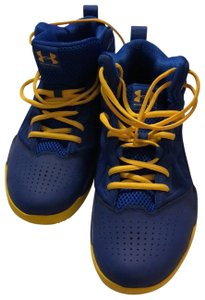 Under Armour Royal blue / yellow Athletic