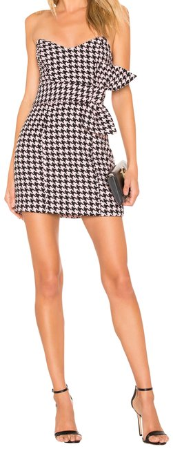 Majorelle Black and Pink Lucy Short Night Out Dress Size 16 (XL, Plus 0x) Majorelle Black and Pink Lucy Short Night Out Dress Size 16 (XL, Plus 0x) Image 1