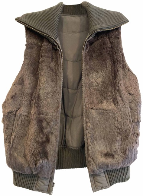 Item - Brown Vest Size 4 (S)