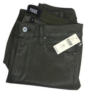 Paige Capri/Cropped Denim-Coated