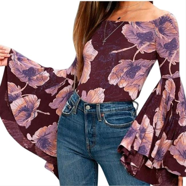 Free People We The Printed Birds Of Paradise Top Free People We The Printed Birds Of Paradise Top Image 1