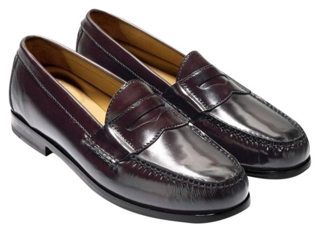 Item - Oxblood Pinch Grand Penny Loafers Flats Size US 6.5 Regular (M, B)