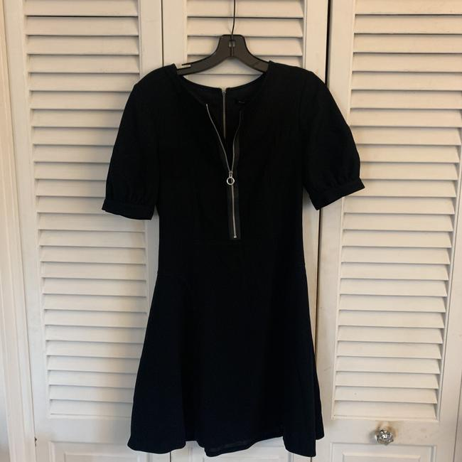 Marc by Marc Jacobs Black Mid-length Work/Office Dress Size 2 (XS) Marc by Marc Jacobs Black Mid-length Work/Office Dress Size 2 (XS) Image 3