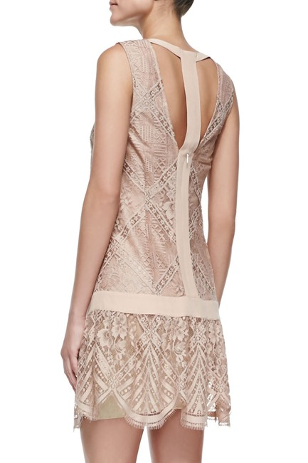 Twelfth St. by Cynthia Vincent Lace Drop Waist Scalloped Shift Dress Image 1