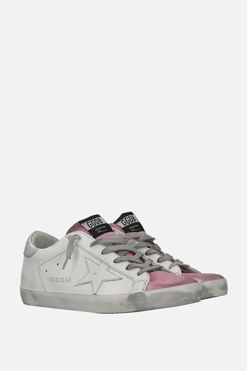 Golden Goose Deluxe Brand Sneaker Ggdb Sneakers Ggdb White & Pink Athletic Image 1