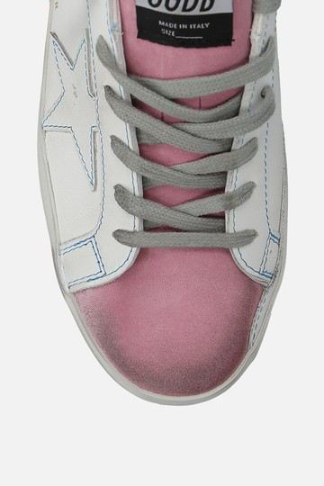 Golden Goose Deluxe Brand Sneaker Ggdb Sneakers Ggdb White & Pink Athletic Image 3