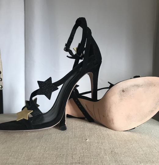 Brian Atwood Black Sandals Image 1
