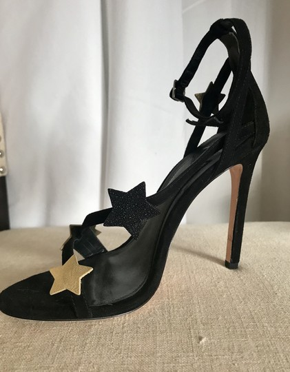 Brian Atwood Black Sandals Image 4