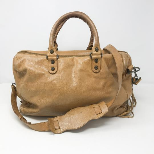Balenciaga Satchel in Tan Image 1