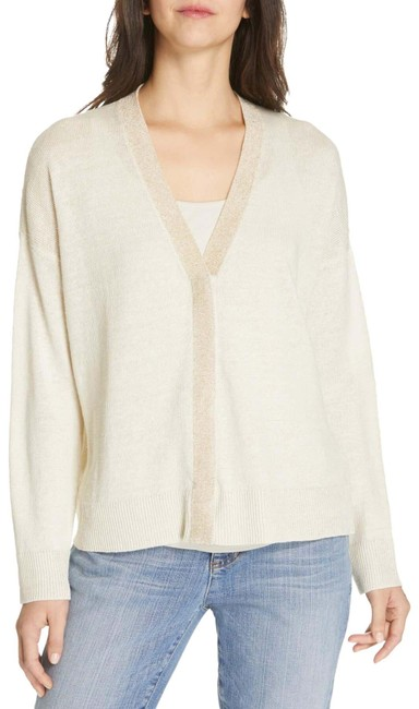 Preload https://img-static.tradesy.com/item/26593395/eileen-fisher-v-neck-cardigan-bone-sweater-0-1-650-650.jpg