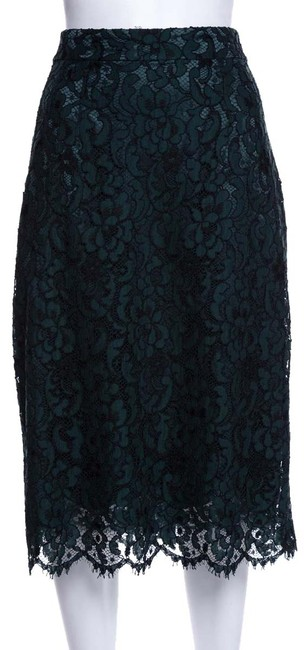 Preload https://img-static.tradesy.com/item/26593429/dolce-and-gabbana-green-dolce-and-gabbana-skirt-size-10-m-31-0-1-650-650.jpg